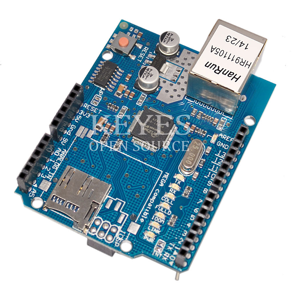 Uno r board module ethernet shield w voor