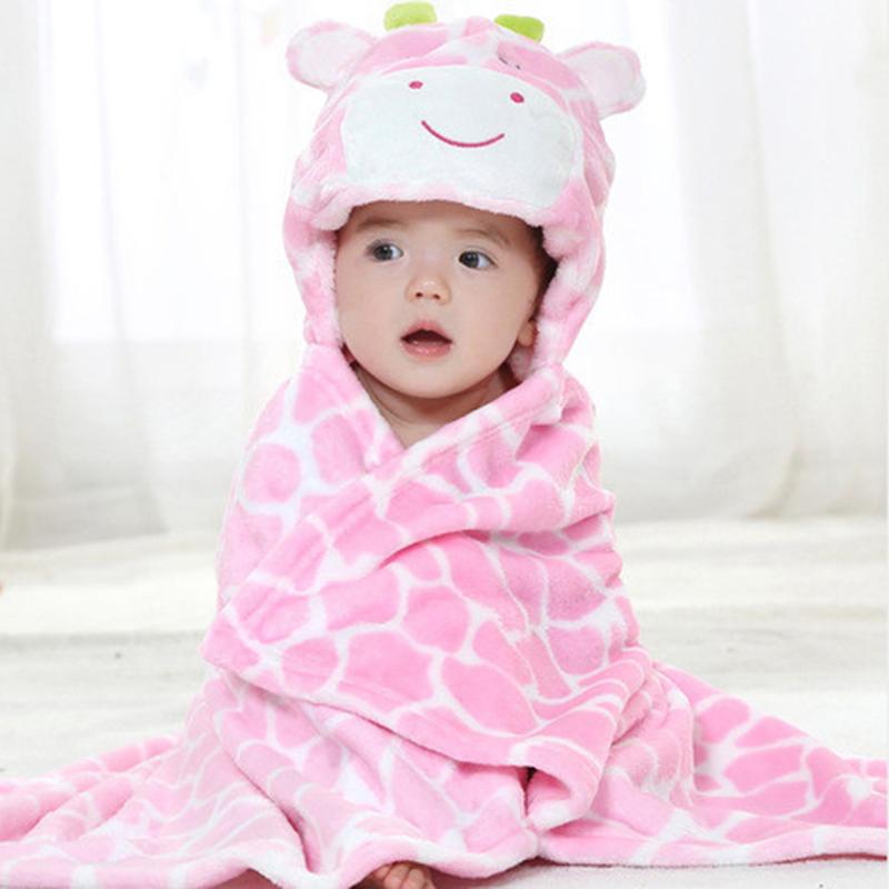 Animal shape baby hooded bathrobe / baby bathrobe / baby bath towel / baby blankets / neonatal hold to be<br><br>Aliexpress