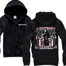 Free shipping Dimebag Darrel Flag and Stars Heavy metal NEW BLACK  100% COTTON  HOODIE(China (Mainland))