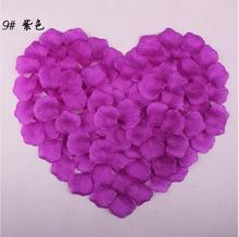 New 2016 Rose Petals Palyester Silk Many colors Cheap Rose Palyester 100 Pieces A Package For Wedding Birthday Valentine's Days(China (Mainland))