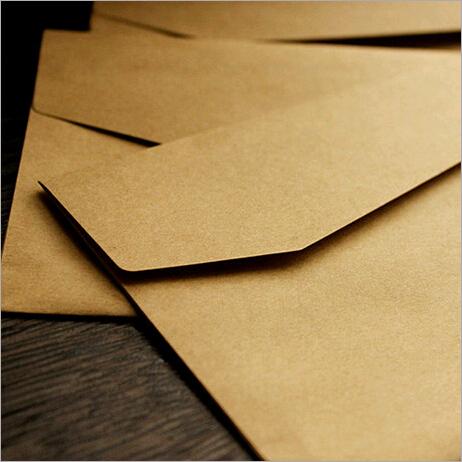 Бумажный конверт 1lot =