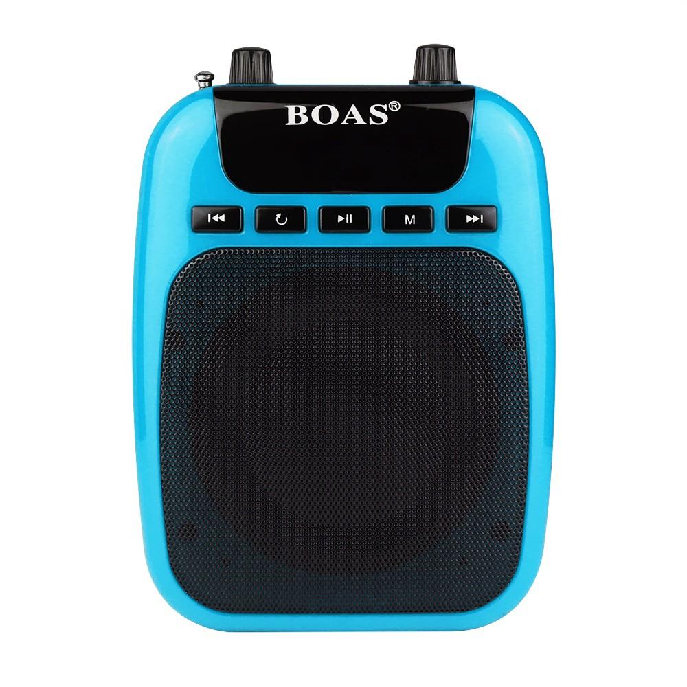 BOAS BQ-850 Multifunctional Waistband Special Voice Amplifier For guide teacher External Voice Loudspeaker Megaphone