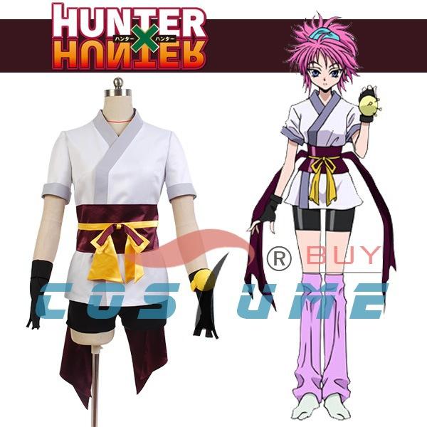 Hunter x Hunter The Phantom Troupe Machi Girls Anime Halloween Cosplay Costumes For Women Coat ...