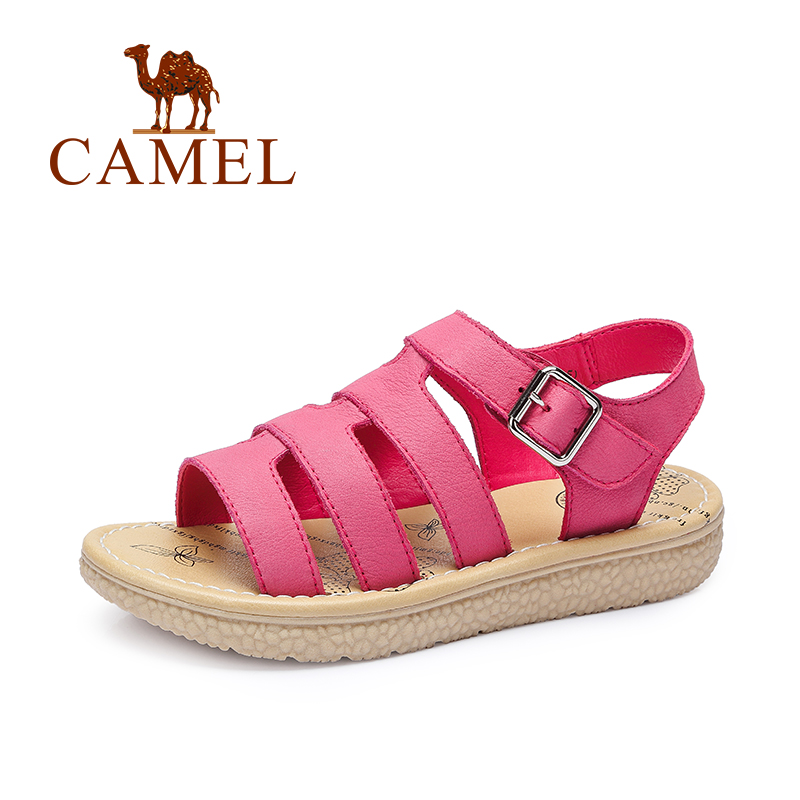 CAMEL 2016 summer new beach sandals women casual leather shoes Rome muffin bottom low-heeled sandals fashion 2016(China (Mainland))