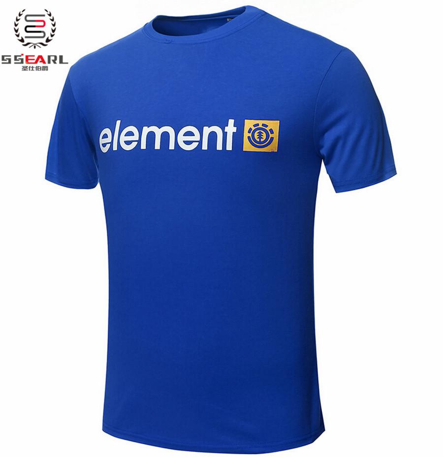 Free Shipping Element T Shirts Men Skateboard Streetwear Boy Man T-Shirt Short Sleeve O Neck Mens Tees Tops Euro Size Shirt(China (Mainland))