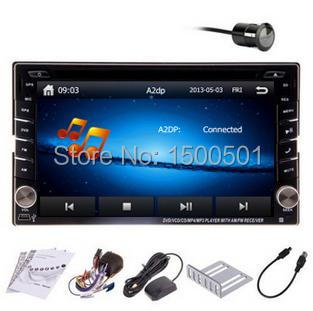 "New EF Sonata Santa Fe Accent two Din 6.2"" In Dash Car DVD player GPS Radio stereo,FM,USB/SD,Bluetooth,HD digital touch screen(China (Mainland))"