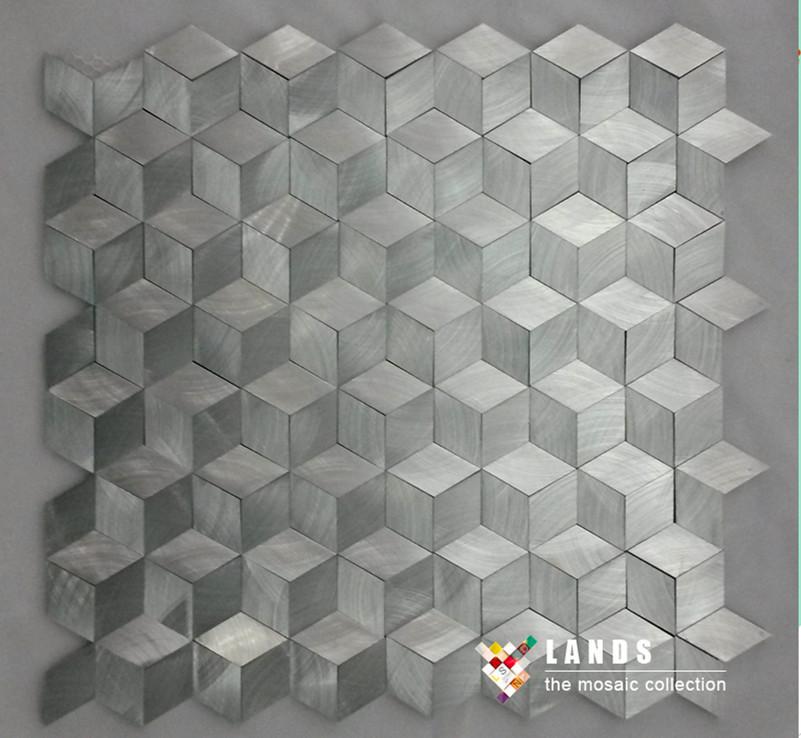Гаджет  New arrivals! Hiqh quality metal mosaic,3D metal mosaic.LSALN03 None Строительство и Недвижимость