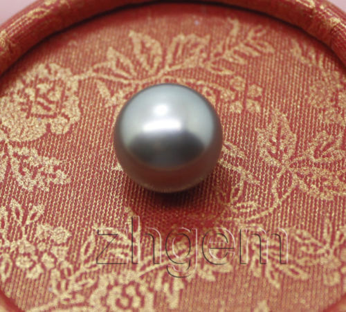 xiuli 000671 natural color south sea pearl round beads gem<br>