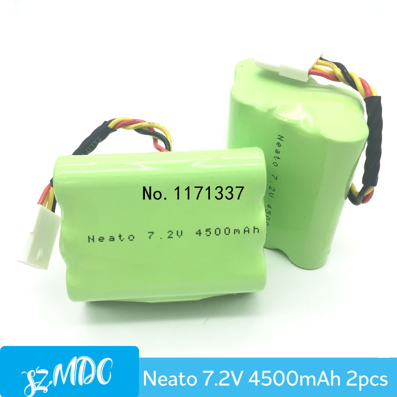 2PCS Top Quality 7.2V 4500mAh Replacement Battery for Neato Vacuum Cleaner Battery XV-11 XV-12 XV-14 XV-15 XV-21 Free Shipping(China (Mainland))