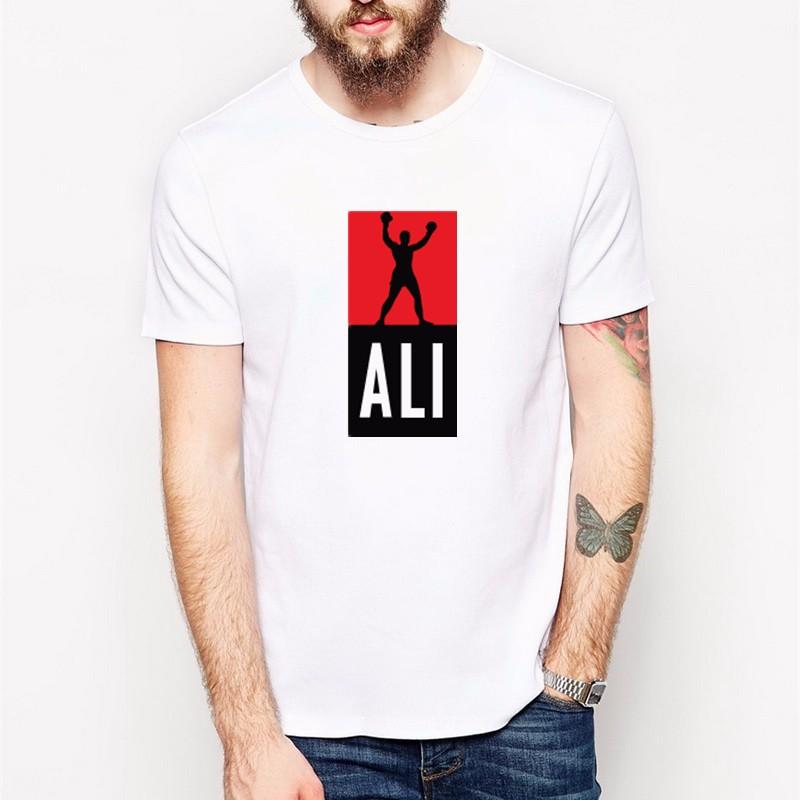 футболка с изображением великого боксера Мухаммад Али фото