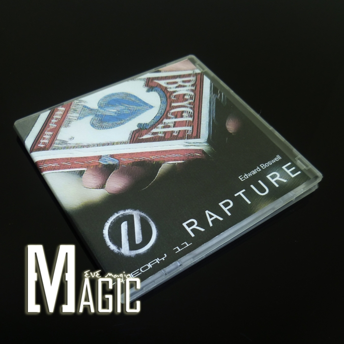 2012 NEW Rapture by Edward Boswell by Theory11 T11 / close-up bicycle card magic trick products for magicians / wholesale(China (Mainland))