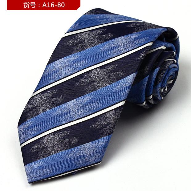 2014 Striped Adult free New Arrival Gravatas Anti-oil Men Silk Scarf Business Leisure Wild Wedding 9cm Ties Stripe Twill Necktie