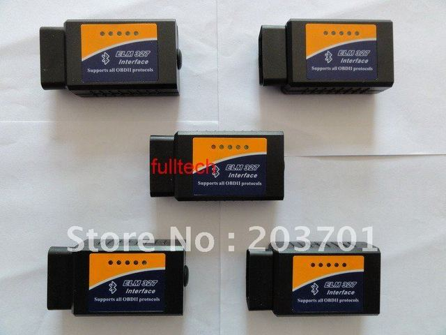 Works On Android Torque V1.5 2014 elm327 bluetooth ELM 327 Interface OBD2 / OBD II Auto Car Diagnostic Scanner OBDII