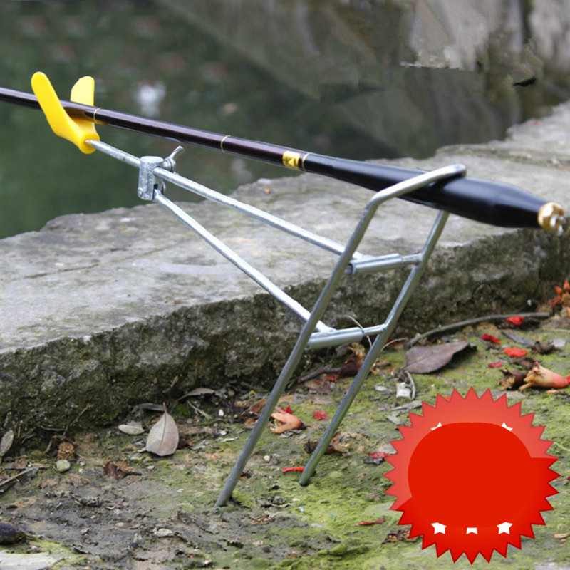 2016 Top Selling Useful Fishing Accessory Adjustable Bracket Fishing Rod Pole Stand Holder Fishing Tool(China (Mainland))