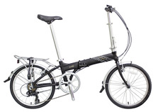 Buy 20 inch Folding Bicycle Alloy Front & Rear Wheel V Brake Folding Bike Hard Frame Vit V7 Standard Variable 7 Speed Bicycle for $369.55 in AliExpress store