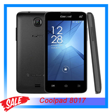 Original Coolpad 8017 4GB 4.0 inch Android 4.4 Smartphone MTK6582M Quad Core 1.2GHz RAM 512MB+ROM 4GB GSM Network