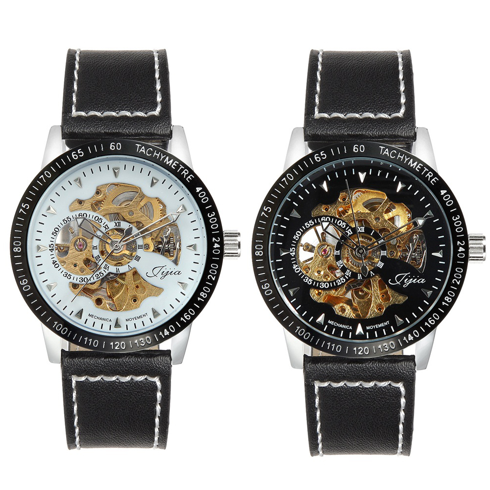 mens watches automatic mechanical s hollow skeleton