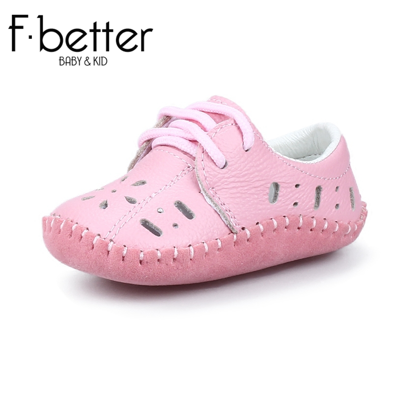Fbetter First Walkers For Newborn Baby Girls/Boys Summer Shoes Genuine Leather Hook&loop Shoes 8 size Free Shipping(China (Mainland))