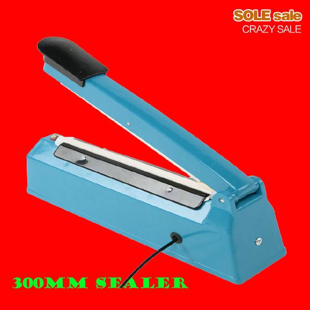 """Manual 12"""" bags sealing machine, plastic bag sealer, hand held sealer for tea bags, package sealing machine, 300mm SF300, 220V"""