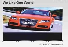 Full HD TV wall 4x3 transparent frame 0 mm bezel 55''  LCD video wall(China (Mainland))