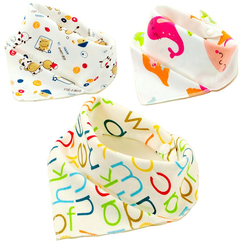 Baby Bibs 20 Patterns 100 Cotton Triangle Head Scarf Boy Kerchief font b Girl b font