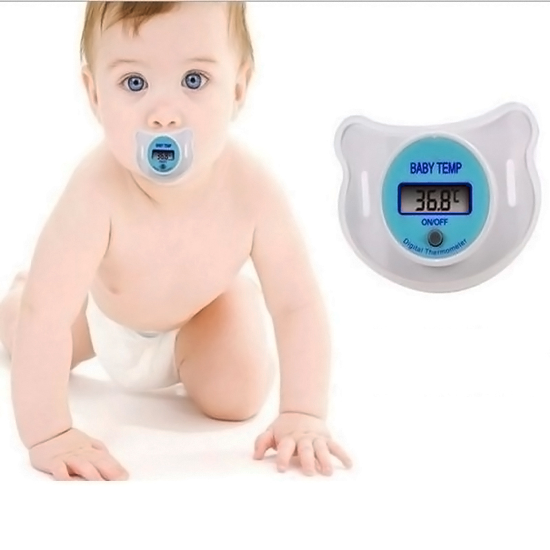 Гаджет  New 1 PC Baby Care Portable Digital pacifier thermometer baby nipple soft safe Mouth Thermometer # BA021 None Детские товары