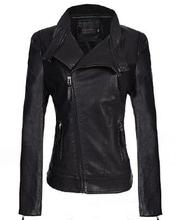 Leather Jacket Women 2015 Plus Size 5XL 4XL Leather Coat Female Faux Sheepskin Motorcycle Slim Outerwear Black Red Yellow(China (Mainland))