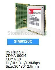 SIM6320C Simcom CDMA-EVDO CDMA 1X GNSS WCDMA Module Distributor 100% New&Original for PDA MID POS AMI Tracker 3G Product(China (Mainland))