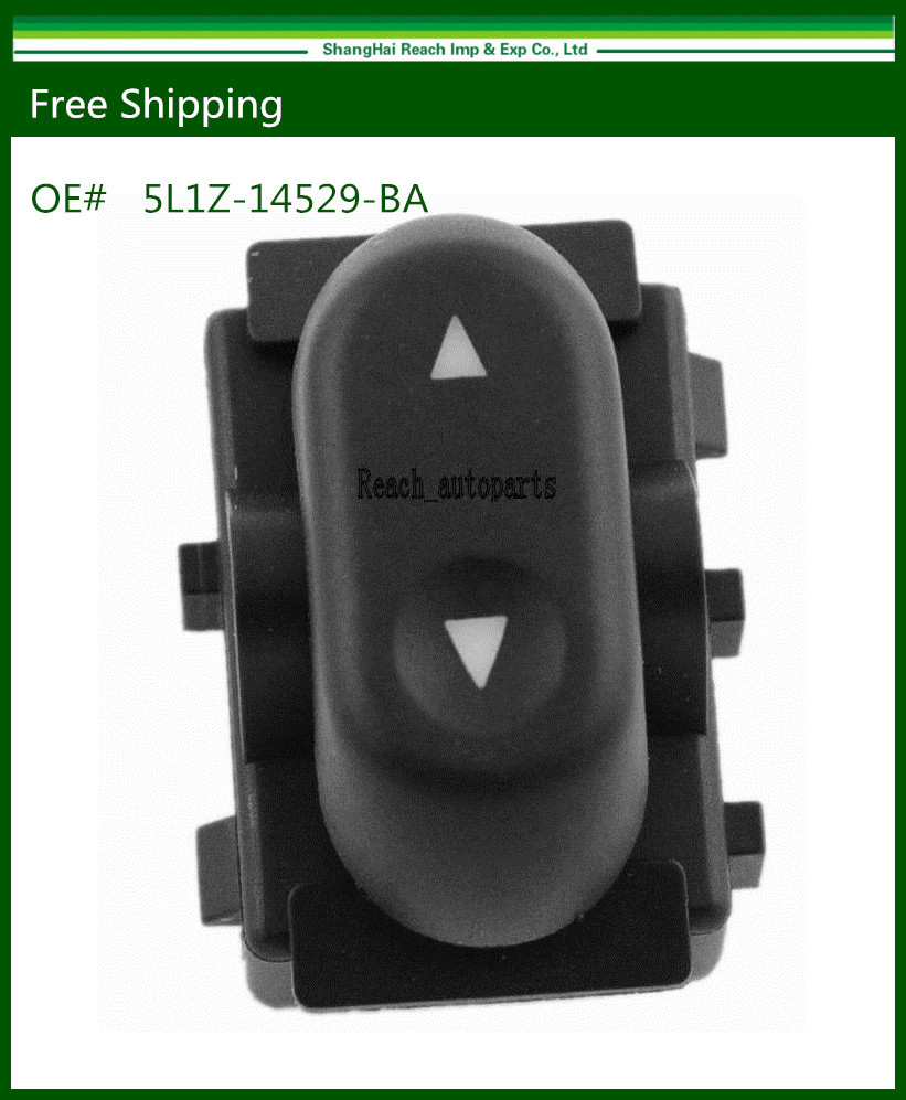 Drop Shipping New Power Window Switch for Ford Crown Victoria Mercury Grand Marquis 5L1Z14529BA(China (Mainland))