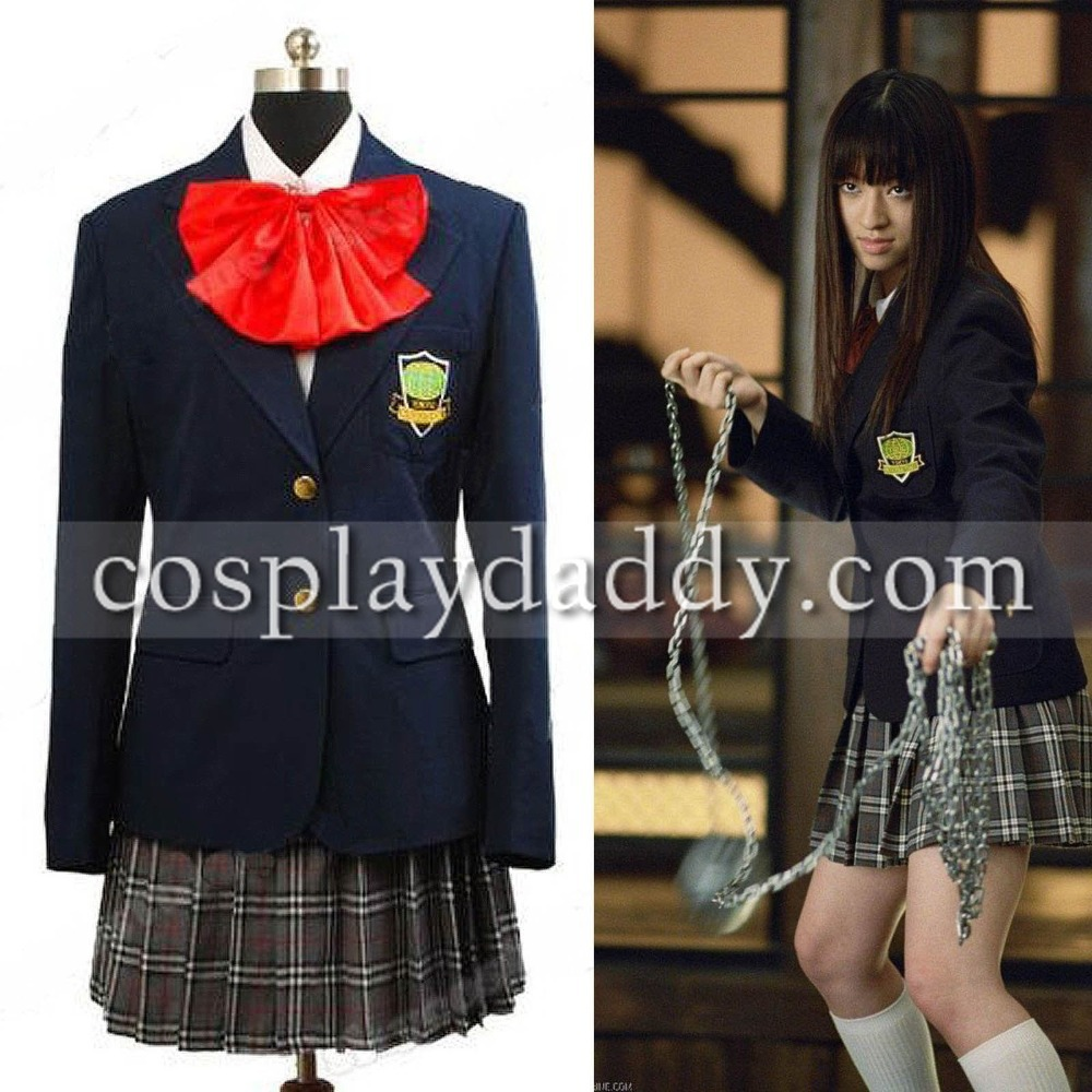 Gogo Kill Bill Halloween Costume Kill Bill Gogo Yubari Outfit