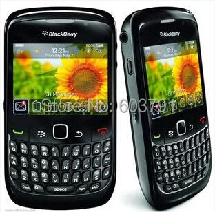 Original BlackBerry 8520 Curve Mobile Phone Smartphone Unlocked 3G WIFI Bluetooth Cellphone(China (Mainland))