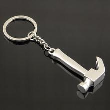 Suti Xách Tay keychain Công Cụ Cao cấp Mô Phỏng Key Chain Nhẫn Thép Không Gỉ Cờ Lê Hình Dạng Búa Món Quà Sinh Nhật(China)