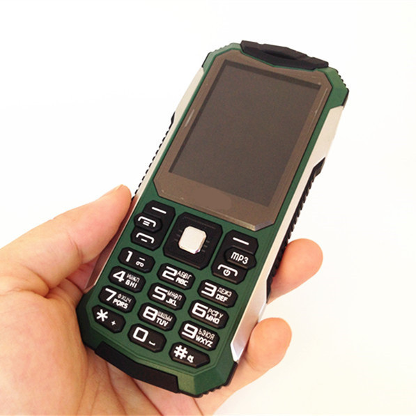 2015 NEW 2.4'' Quality Outdoor Shockproof Dustproof Mobile Phone S6 3D Sound HD Screen Vibration Russian French Spanish Language(China (Mainland))