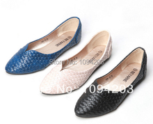 Free shipping 2014 new European and American women casual shoes retro Punt pointed shoes large size :35-41(China (Mainland))