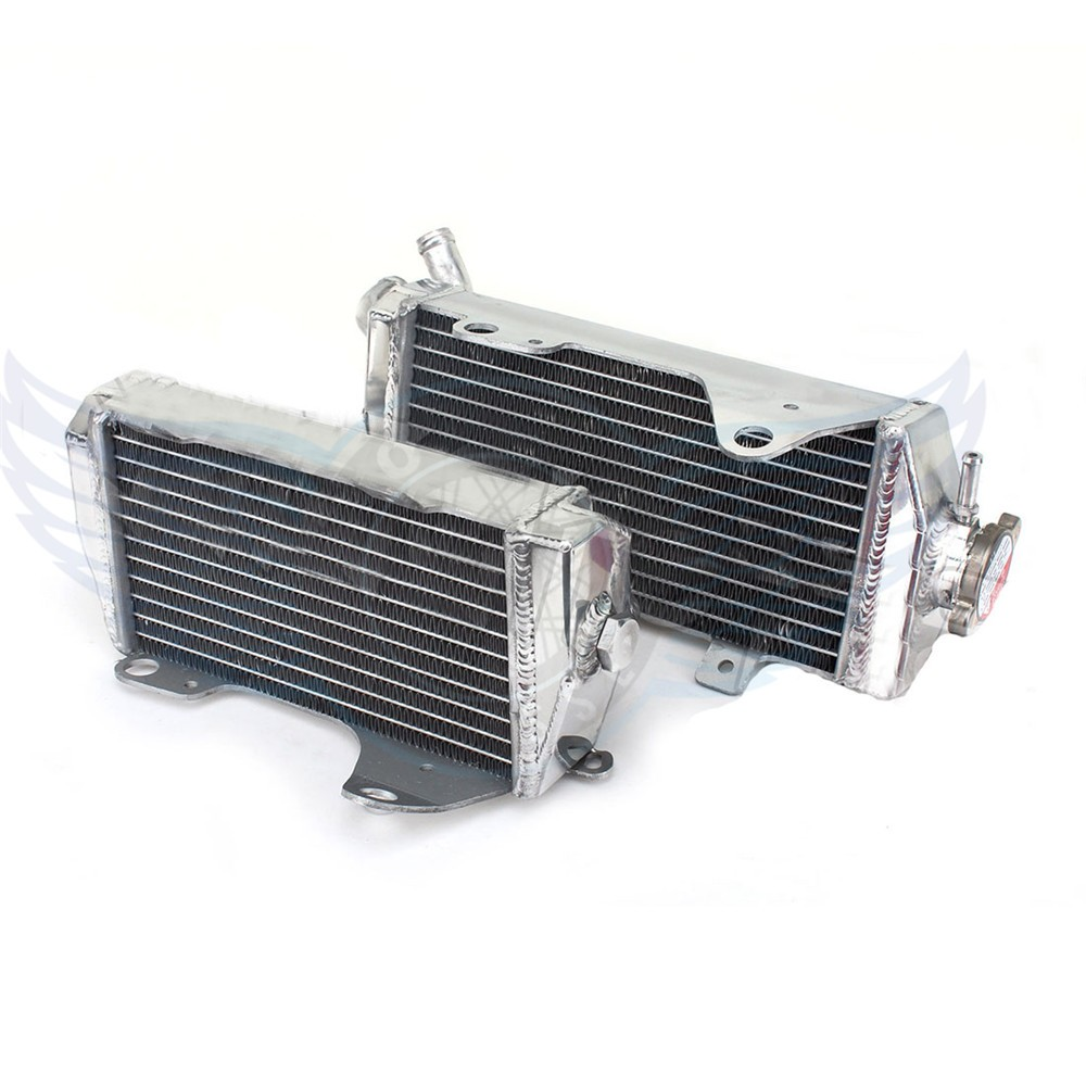 high quality Motorcycle Parts Aluminium Replacement Grille Guard Cooling Cooler Radiator Left Moto for Honda CRF 450 R 2013