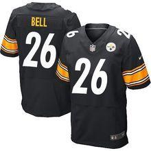 2017 men Pittsburgh Steelers, #84 Antonio Brown #7 Ben Roethlisberger #25 Bruns Elite 100% stitched logo #26 LeVeon Bell(China (Mainland))