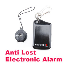 Black Anti Lost Electronic Personal Reminder Alarm Helpful Finder H1E1