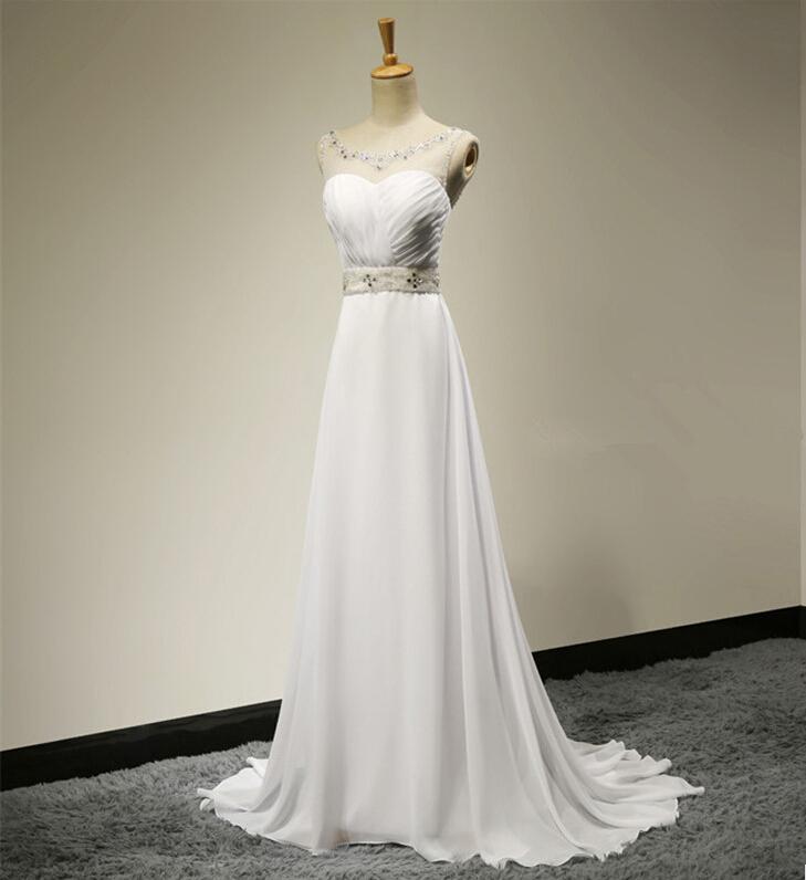 Custom made hot sell high low summer beach wedding dresses for Hi lo wedding dress