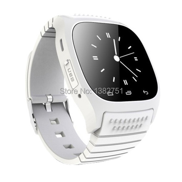 NEW Business bluetooth smartwatch M26 waterproof clock data Sync Phone calls For Android Phone SMS camera