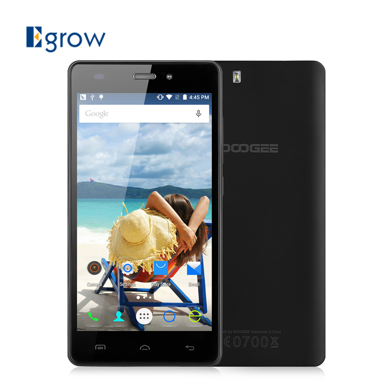 Original Doogee X5S Android 5.1 Cell Phone MT6735 Quad Core 5.0 Inch Mobile Phone Unlocked GSM/WCDMA/LTE Dual SIM Smartphone(China (Mainland))