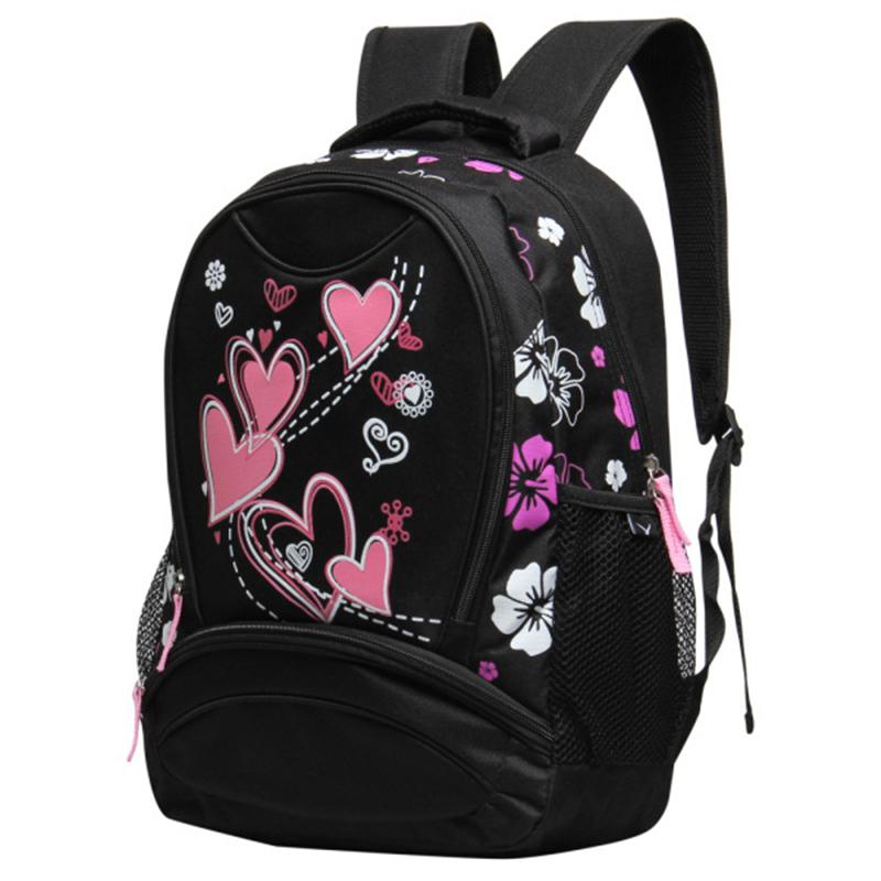 VN Brands 2016 School Bags for Girls Printing Women Backpack Cheap Shoulder Bag Wholesale Kids Child Backpacks Fashion Designer(China (Mainland))