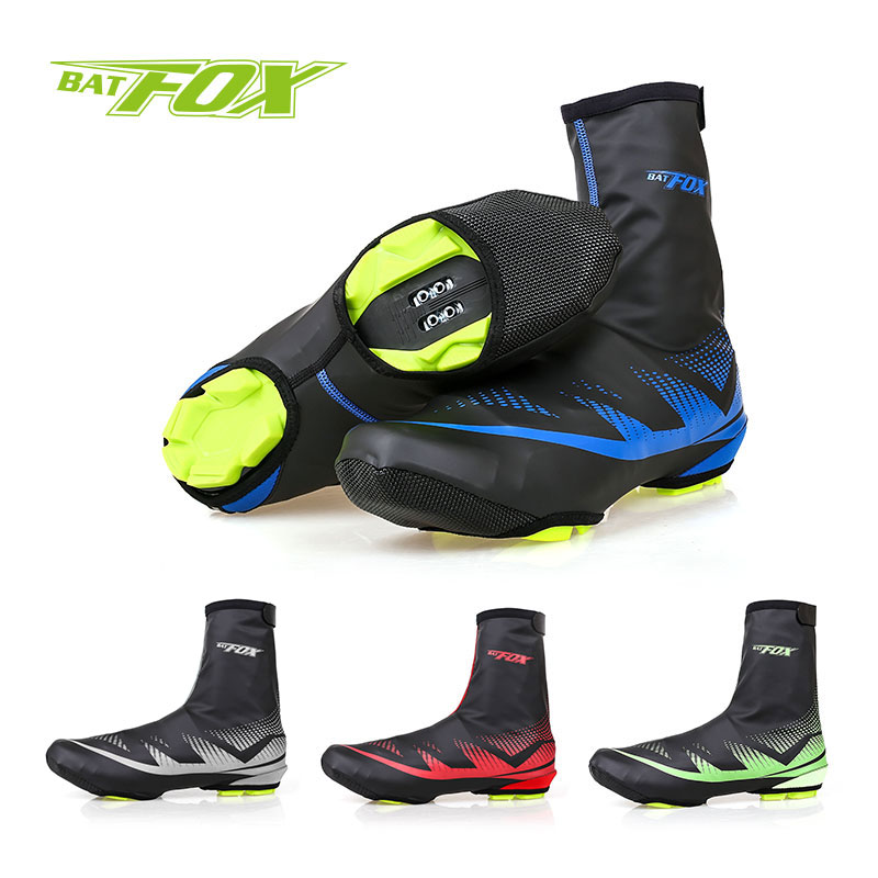 BATFOX Sport MTB Cycling Overshoes Polyester Neoprene Bike Shoes Cover Outdoor Waterproof Anti-wear Shoes Cover New Arrived(China (Mainland))