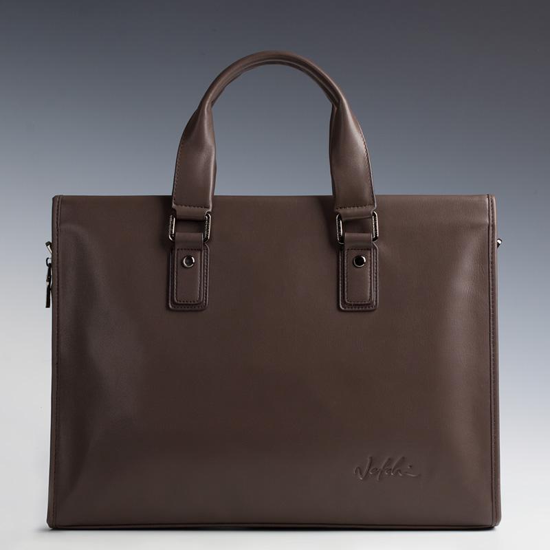 2016 classic brand leather man bag business men briefcase vintage men shoulder Laptop bag casual handbag men messenger  bag<br><br>Aliexpress