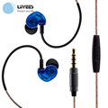 Liivees M26 in ear 3 5mm sport Wired earphone beatsstudio Bass stereo game headsetfone de ouvido
