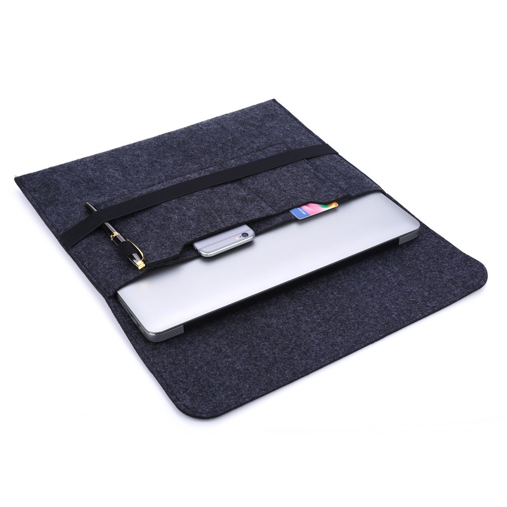 11.6 / 13 / 15.6 Inch Wool Felt Envelop Laptop Sleeve Case Notebook Protective Cover For Macbook Pro/Air/Retina Notebook bag(China (Mainland))