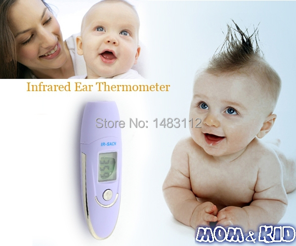 Gentle Touch Infrared Ear Thermometer Portable Digital IR Body Temperature Thermometer H9735QQ(China (Mainland))