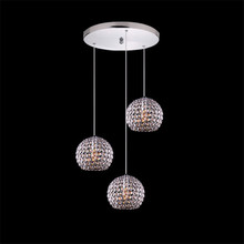 Buy Adjustable Modern brief K9 Crystal Pendant Light E27 Iron Welding Hanging Pendant Lamp Dining Room Living Room Bar Hotel for $49.25 in AliExpress store