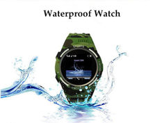 Waterproof Smart Watch TW320 Sync Notifier Support 3G Sim Camera   Player Magnetic Charger for Swimming and Diving