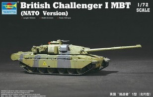 1/72 high quaity hobby tank model British Challenger MBT (NATO Version) Tank Armored Car Model kit for kids(China (Mainland))