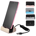 Portable Type C Charging USB 3 1 Universal Dock charger safe charging adapter For Nexus 6P